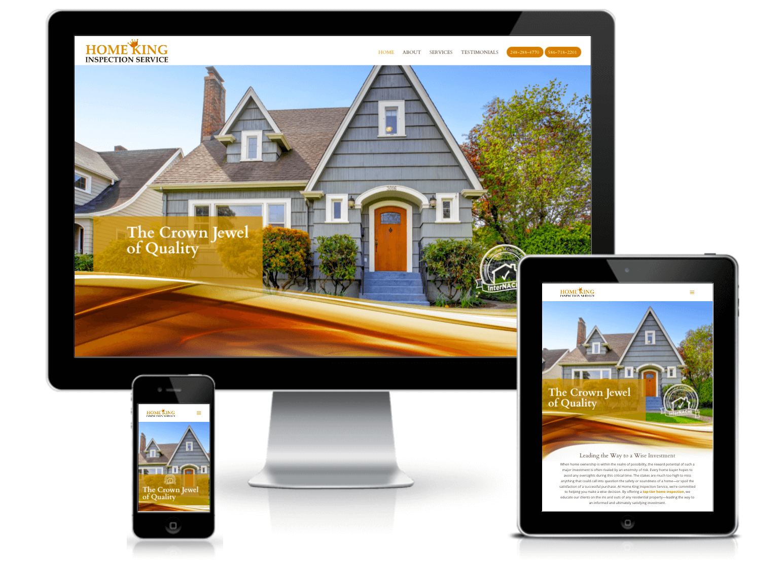 homeking website design