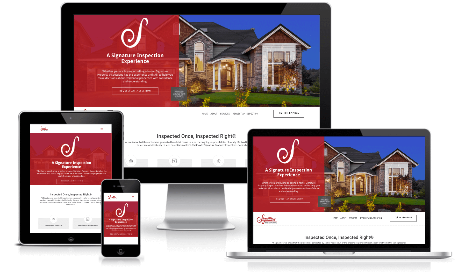 signature property inspections website