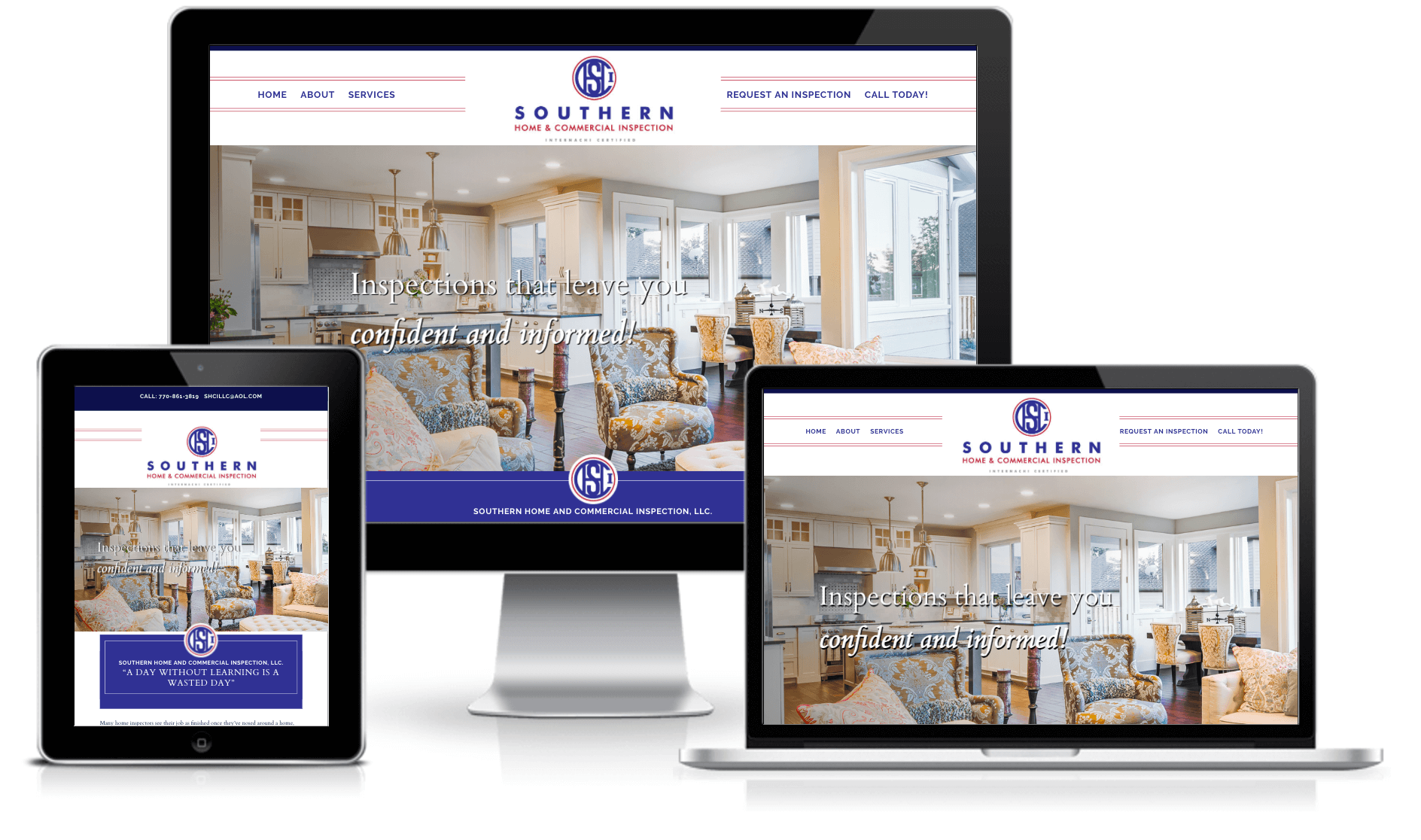 southern home commercial inspection website