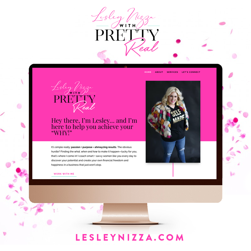 Lesley Nizza Rodan + Fields Website Design