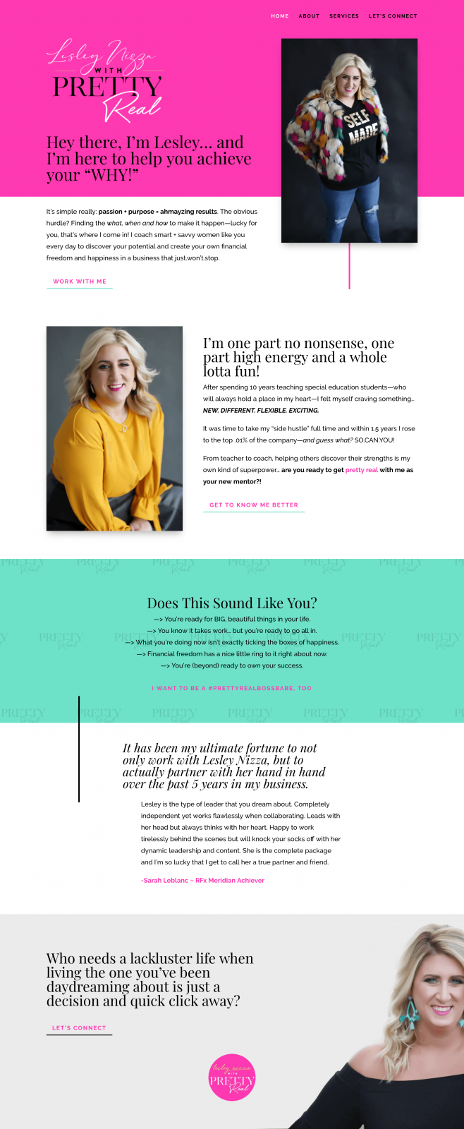 lesley nizza rodan and fields website