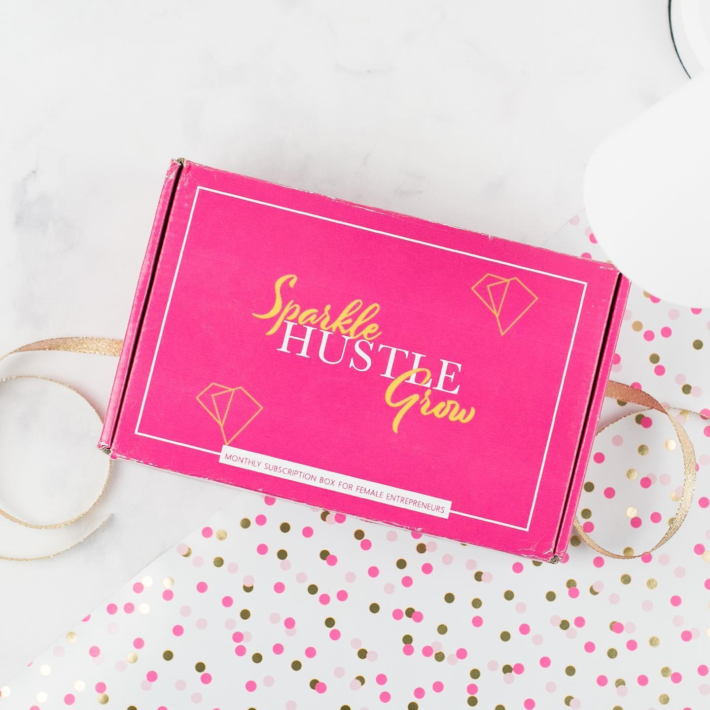 sparkle hustle grow subscription box