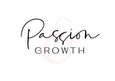 Passion & Growth Main Logo