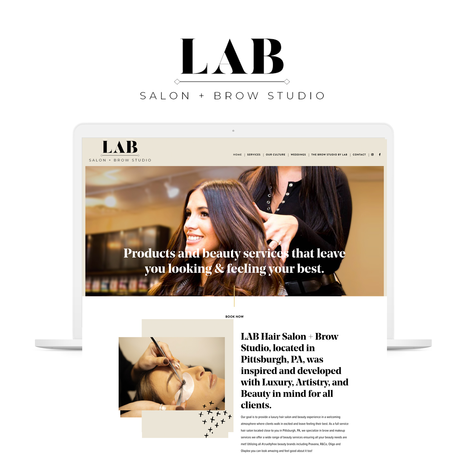 lab-salon-website-design