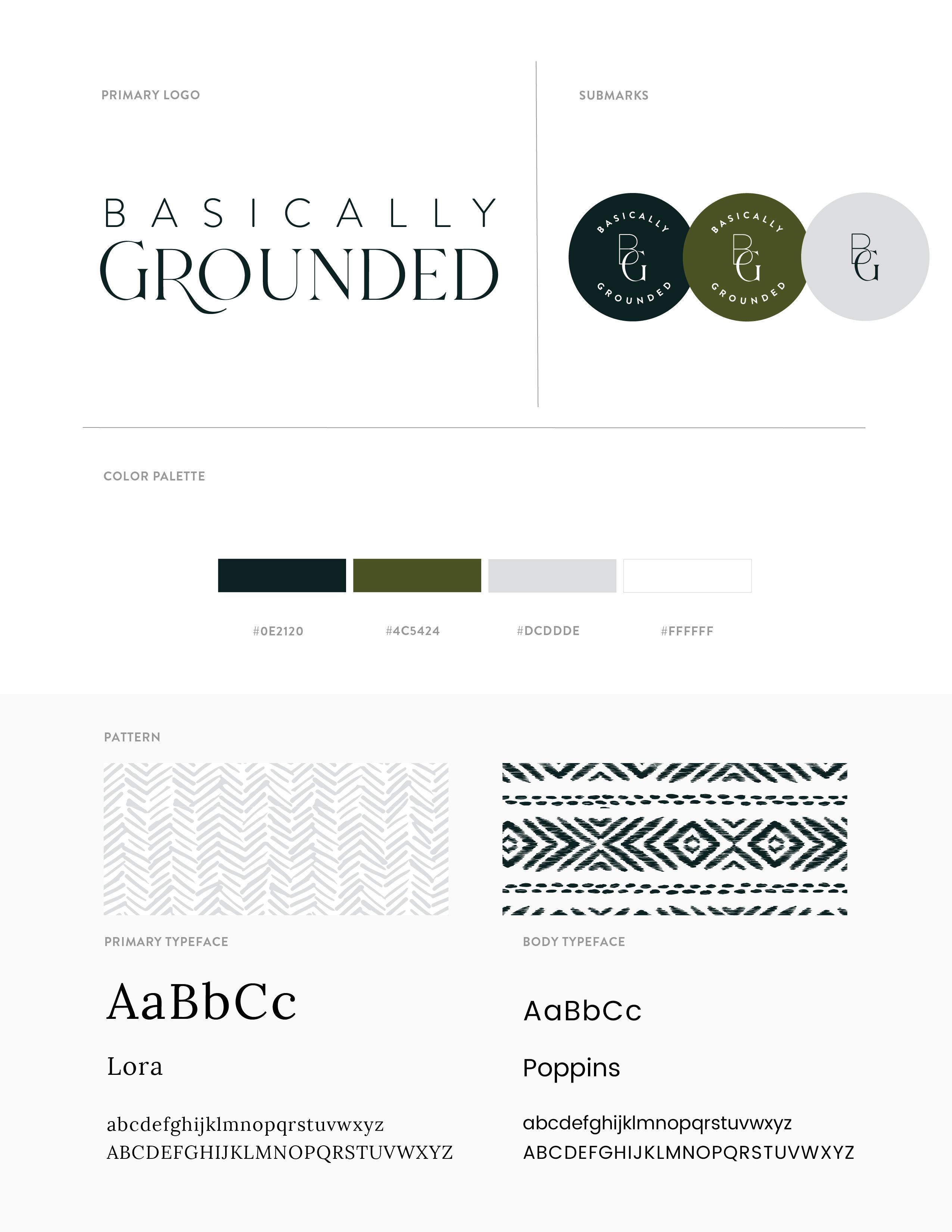 Basically Grounded Brand Guide