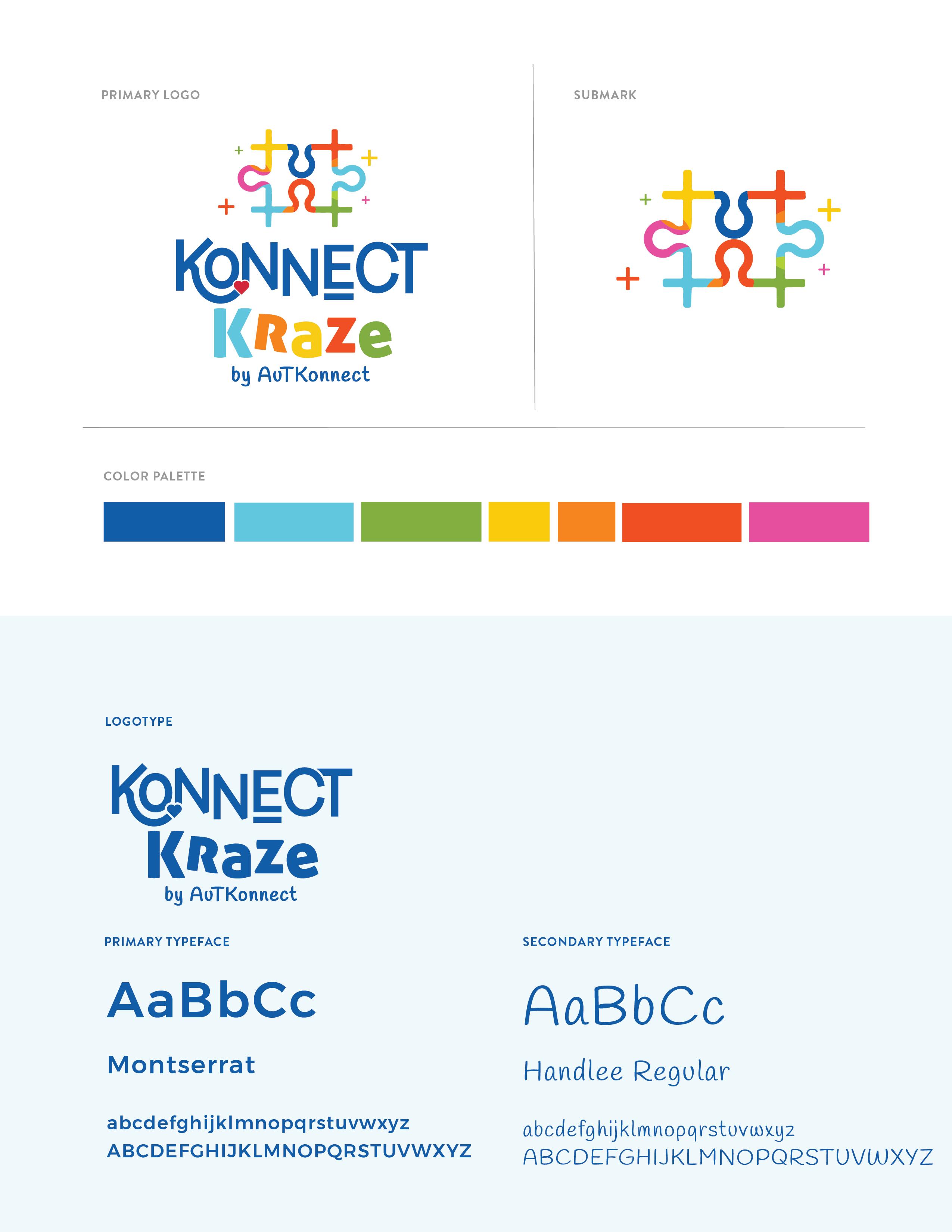 brand guide Konnect Kraze