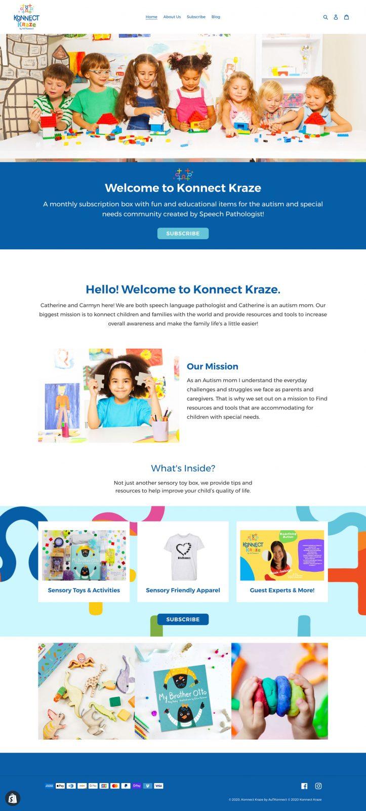 konnect kraze website