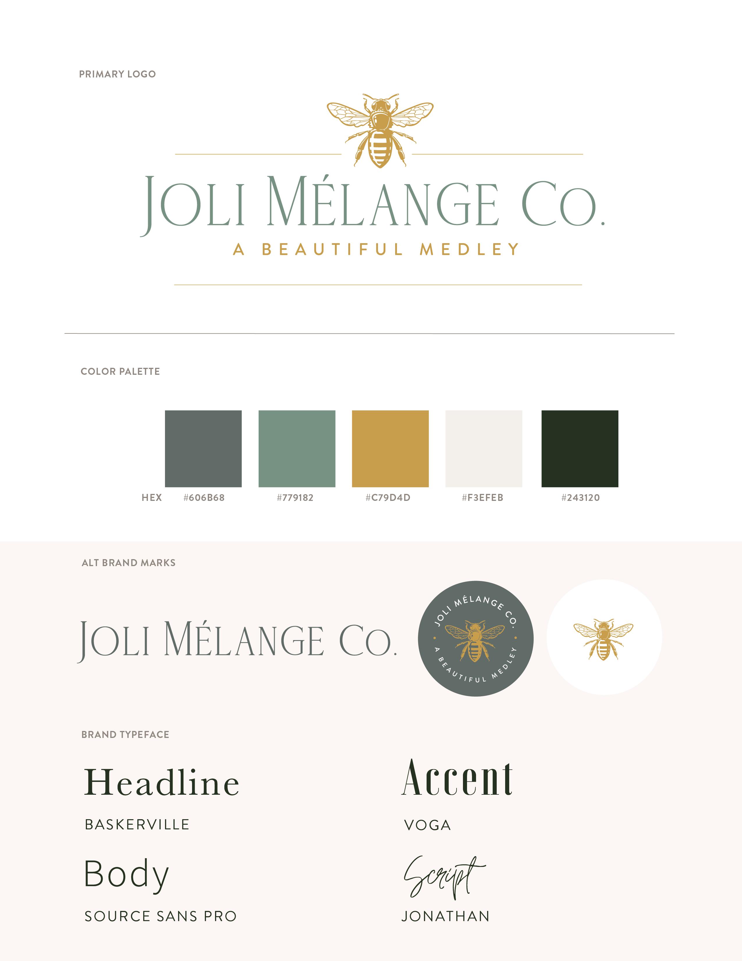 brand guide JM